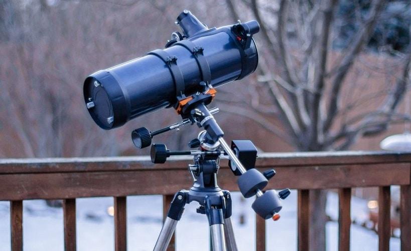test téléscope Celestron Astromaster 114
