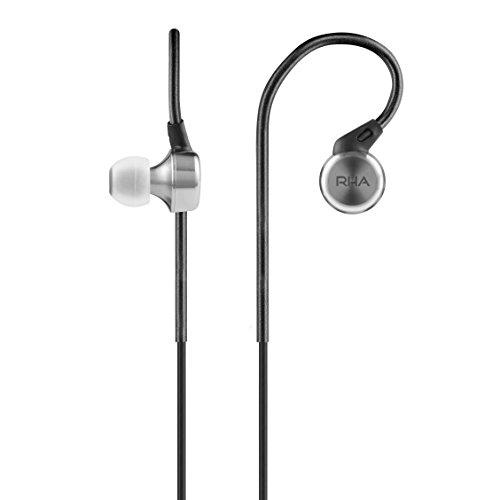 RHA MA750 - Casque d'écoute intra-auriculaire (réduction du bruit), noir