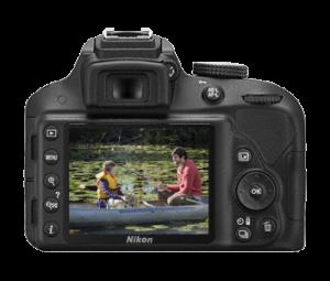 Comparaison Nikon D3300