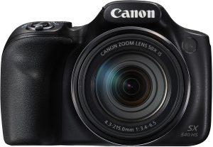 Caméras compactes comparatives