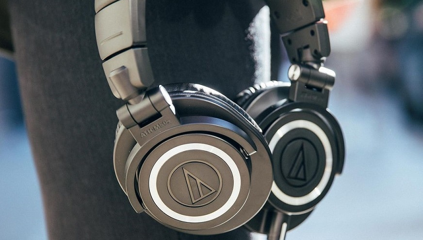 casque audio Technica ATH M50X