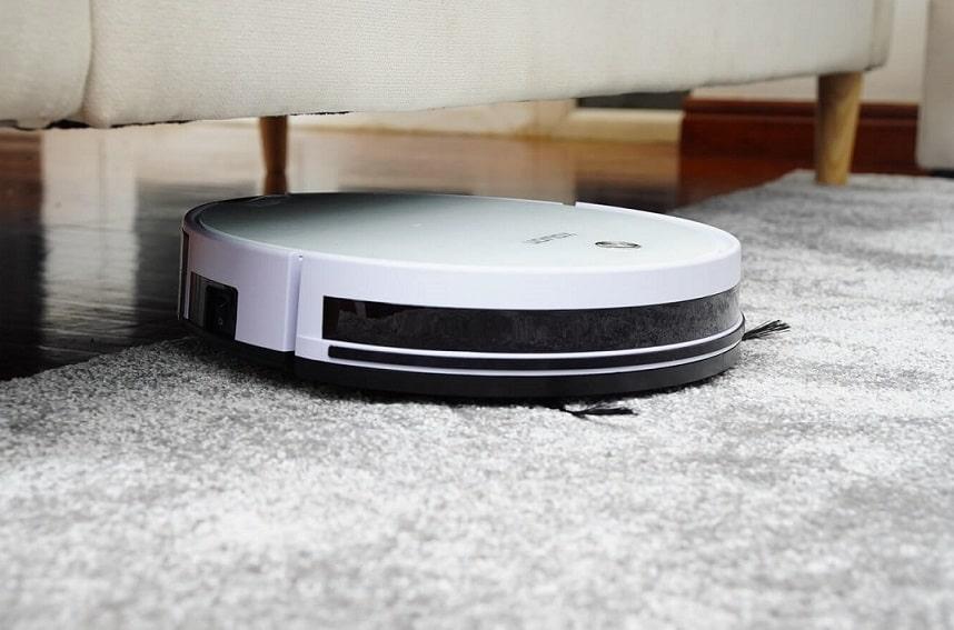 Robot aspirateur sans fil Onson J20C sols durs tapis Avec navigation intelligente Compatible avec App//Alexa 2100 PA Pour poils danimaux Forte puissance daspiration
