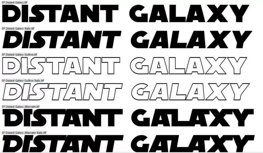 police SF distant galaxy